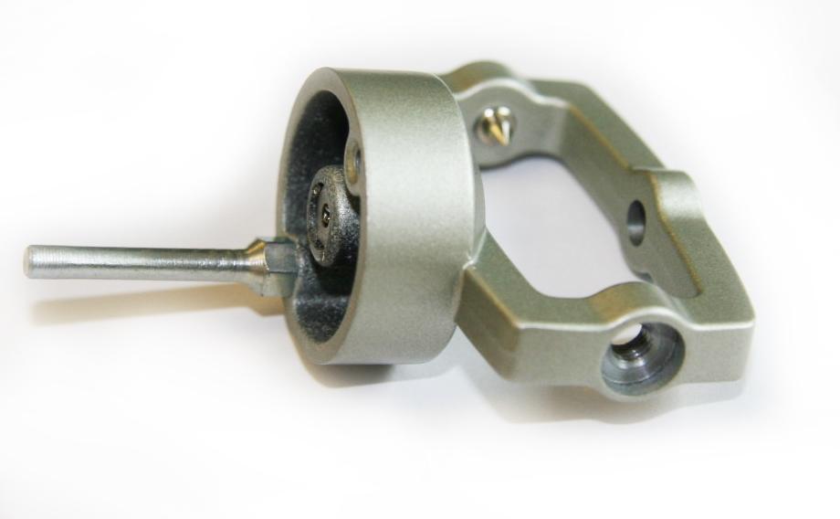 Technics SL 1200 Tonearm Central Pivot with bearings Silver Fits Mk2 ...