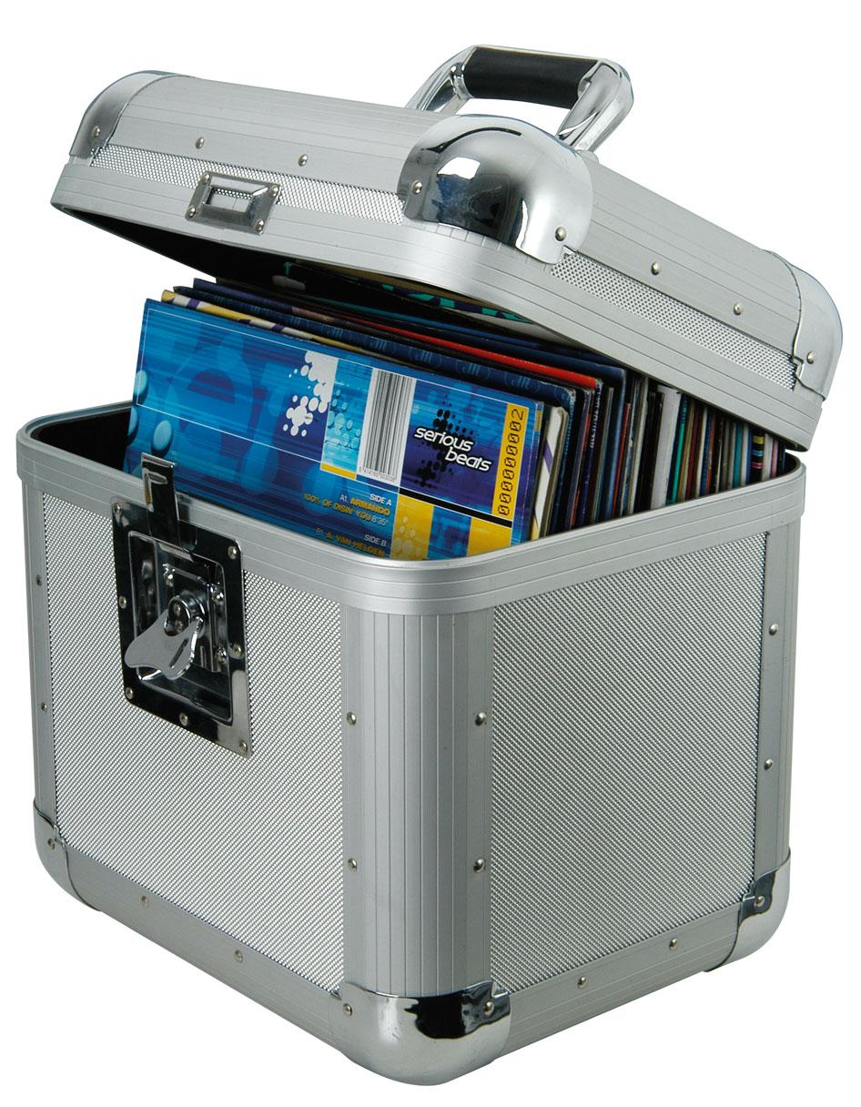 Citronic Vinyl Flightcase Holds 50 Lp Records Strong