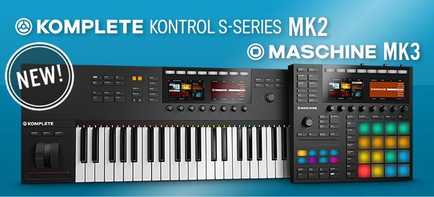 Native Instruments Maschine Mk3 & KKS 61 & 49 Mk2