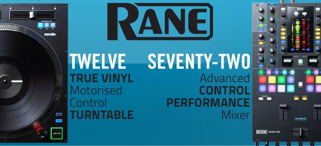 Rane Twelve & Seventy-Two