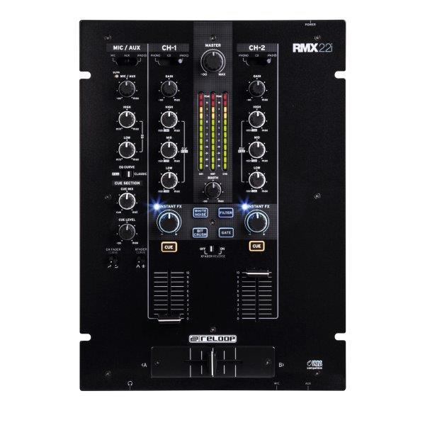 reloop rmx 22i mixers bop dj. Black Bedroom Furniture Sets. Home Design Ideas