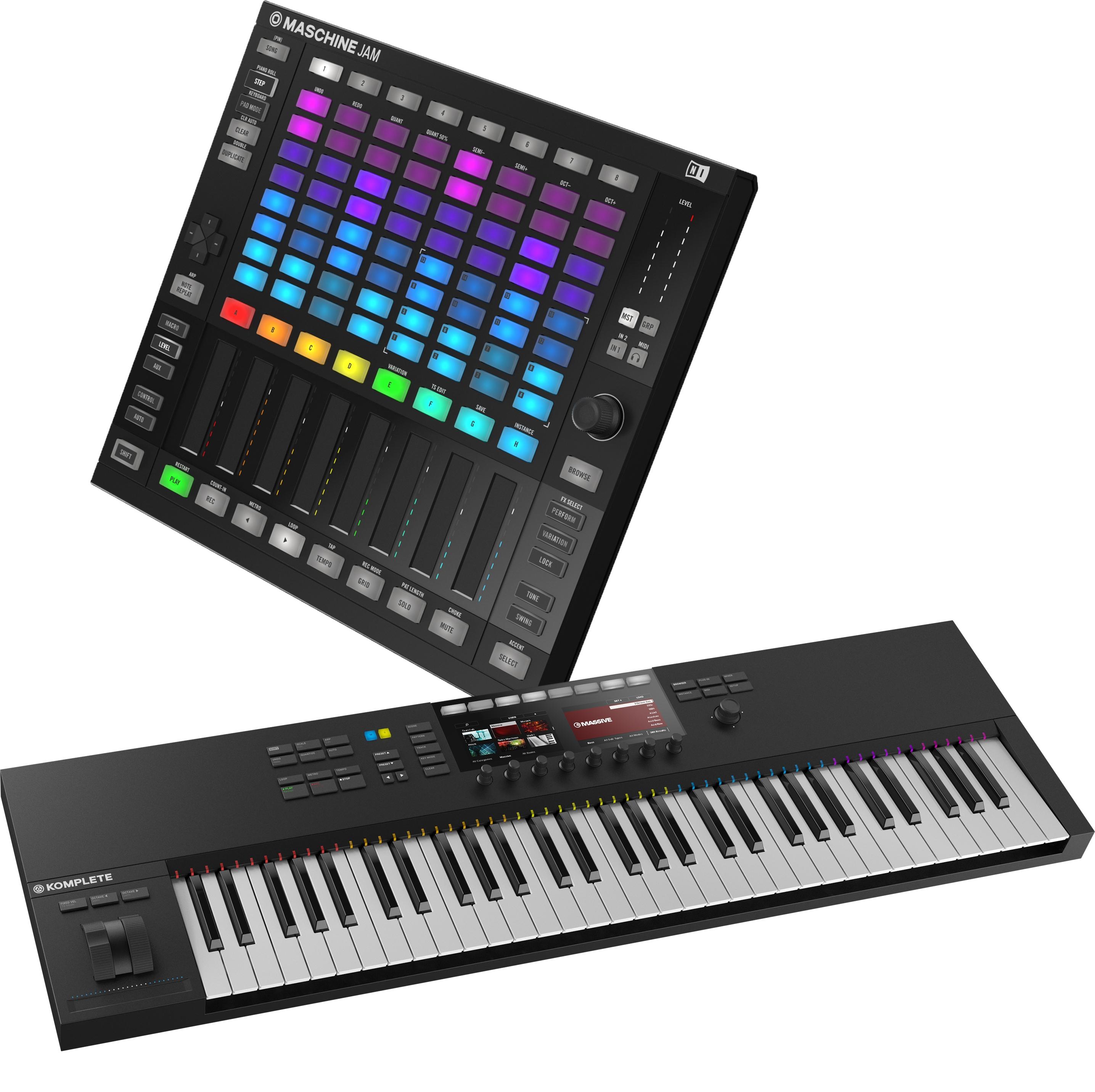 NI Komplete Kontrol S61 Mk2 & Maschine Jam | Bop DJ