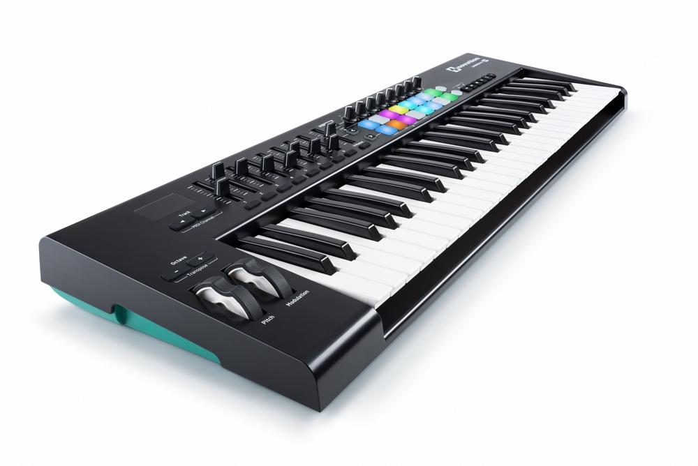 novation launchkey 49 mk2 midi keyboards bop dj. Black Bedroom Furniture Sets. Home Design Ideas