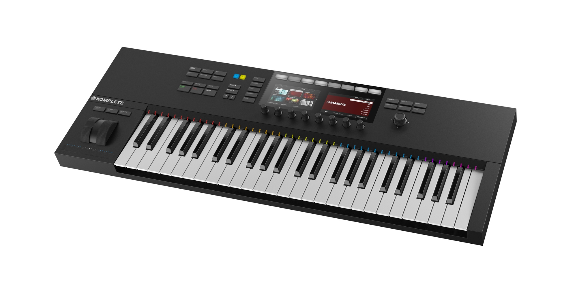 native instruments komplete kontrol s49 mk2. Black Bedroom Furniture Sets. Home Design Ideas