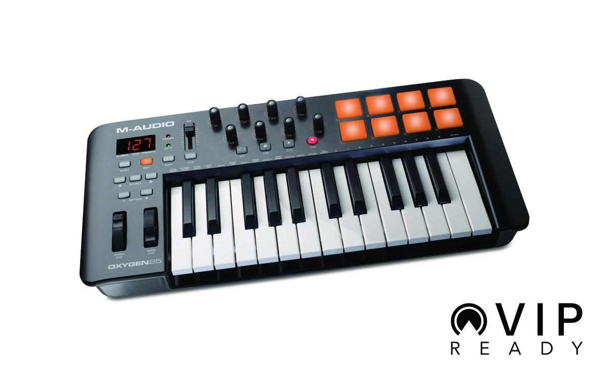 M-Audio Oxygen 25 Mk4   MIDI Keyboards   Bop DJ