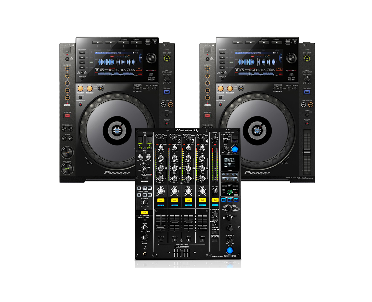 PIONEER CDJ-900NXS DJ CONTROLLER DRIVERS WINDOWS XP