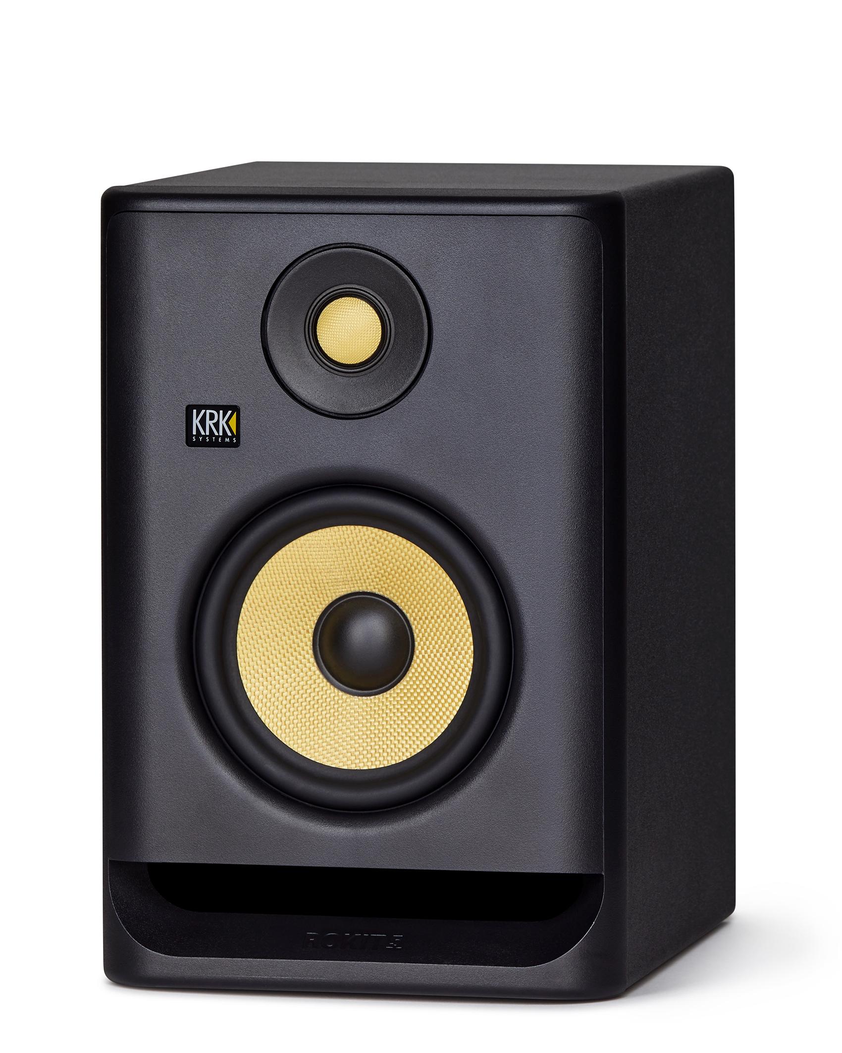 2x krk rokit rp5 g4 speakers bop dj. Black Bedroom Furniture Sets. Home Design Ideas