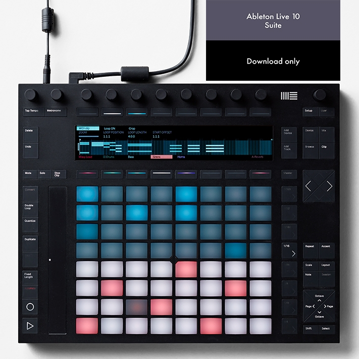 Details about Ableton Push 2 & Live 10 Suite (Download)