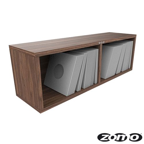 Zomo Vs Box 7 200 Walnut Vinyl Storage Bop Dj