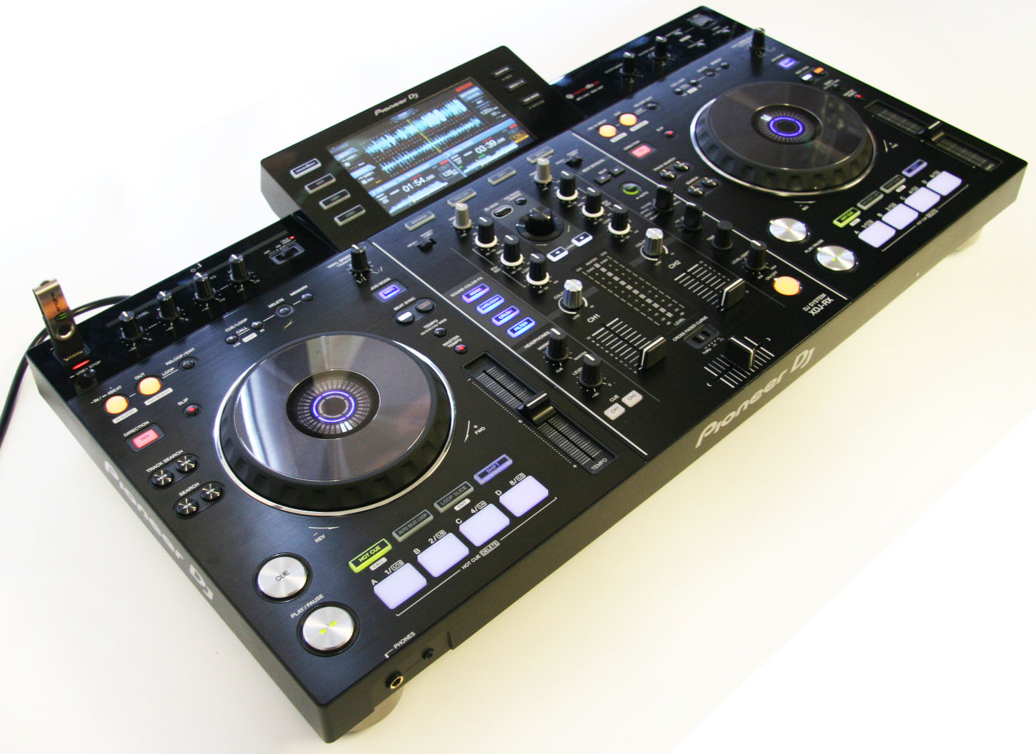 pioneer xdj rx usb input all in one standalone dj system no computer required ebay. Black Bedroom Furniture Sets. Home Design Ideas